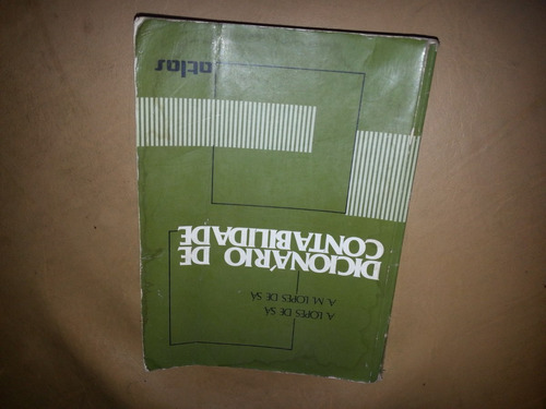 dicionário de contabilidade