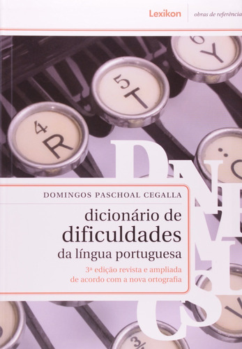 dicionário de dificuldades da língua portuguesa - 3ª edição