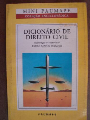 dicionário de direito civil paulo matos peixoto 101