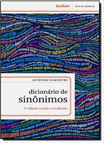 dicionário de sinônimos - 4ª edição