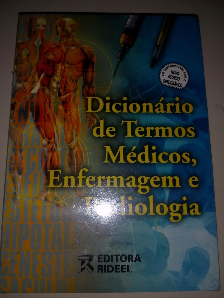 dicionario de termos medicos enfermagem e radiologia