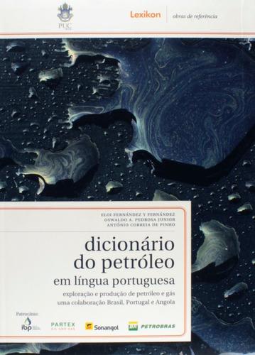dicionário do petróleo em língua portuguesa