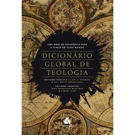 Dicionário Global De Teologia Lançamento Hagnos