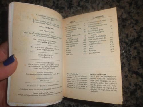dicionário inglês port port inglês - collins gem