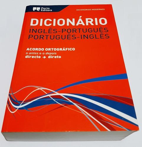dicionário inglês-português/português-inglês - porto editora