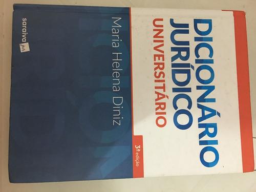 dicionário jurídico universitário - 3ª edição de 2017