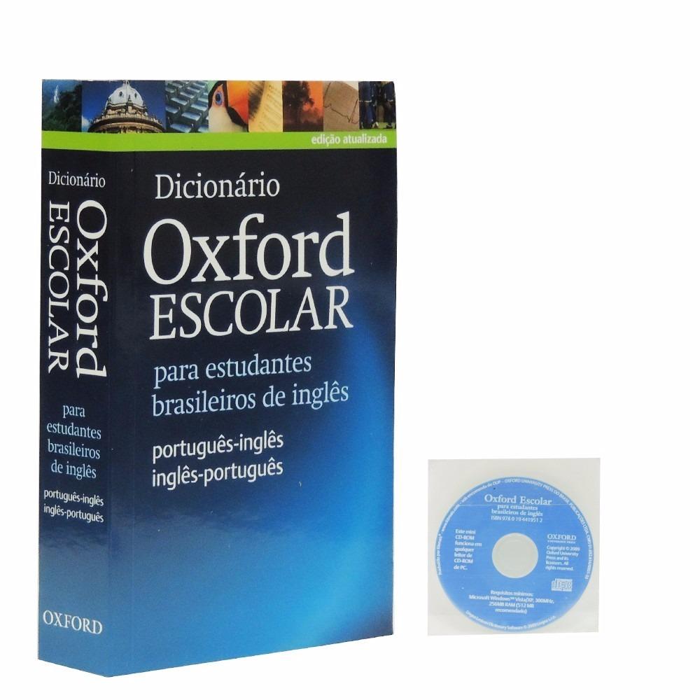 Dicionário Oxford Escolar Para Estudantes Brasileiros