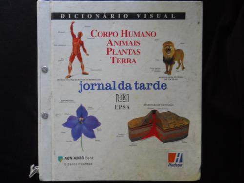 dicionário visual - corpo humano, animais, plantas, terra