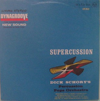 dick schory's - supercussion - stereo