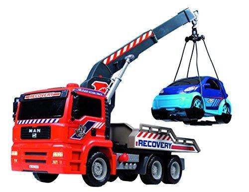 dickie toys 12 bomba de aire acción de camiones de remolqu