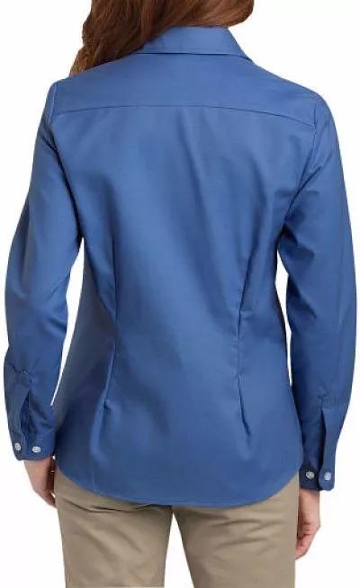 Dickies Fl254 azulsa  Manga Larga Casual Y De Trabajo