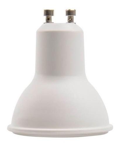 dicroica led 5w 220v gu10 blanco calido frio 120° apertura