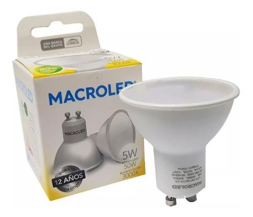dicroica led 5w luz cálida macroled # ofme chacras