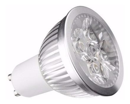 dicroica led 6w gu10 220v blanco frio o calido