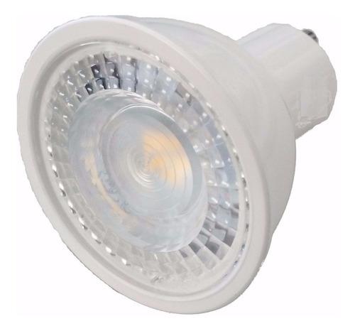 dicroica led 7 watts gu10 smd blanco frío ml