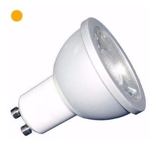 dicroica led dimerizable 7w 220v gu10 calido frio pack x10