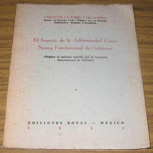 dictadura fidel castro - imperio arbitrariedad - 1964 cuba