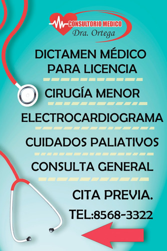 dictamen médico de  licencia digital