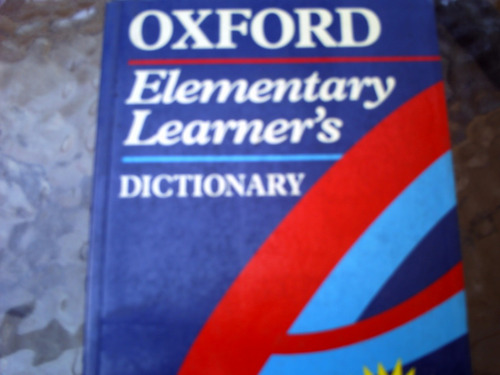 dictionary elementary learners, de oxford