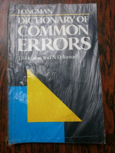 dictionary of common errors longman heaton & turton exc est!