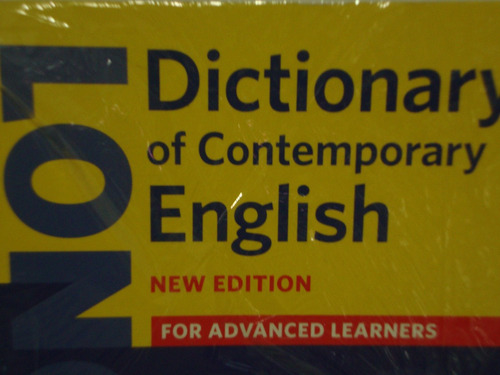 dictionary of contemporary english logman new edition