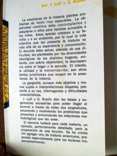 didactica de geografia e historia j. leif g. rustin