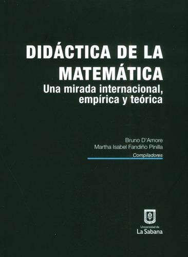 didáctica de la matemática. una mirada internacional, empíri
