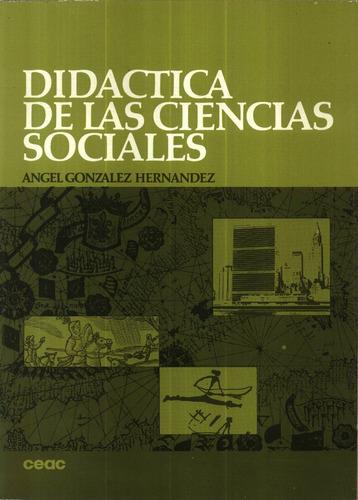 didactica de las ciencias sociales - gonzalez