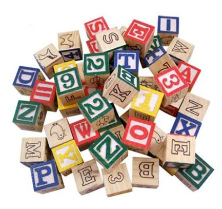 didácticos cubos juguetes