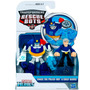 Playskool - Rescue Bots - Chase The Police-bot & Chief Burns