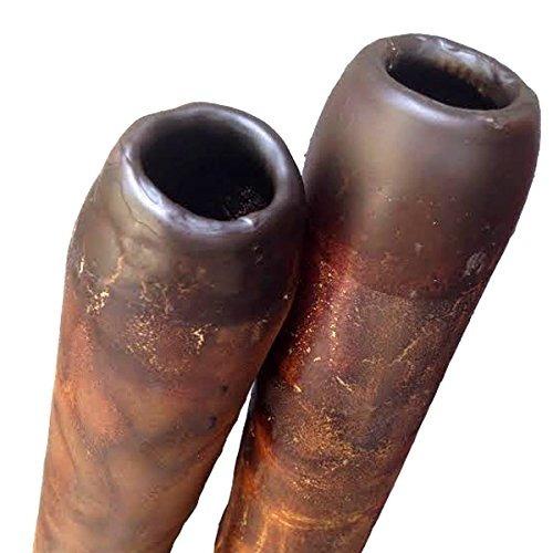 didgeridoo moderno hecho a mano boquilla en cera de abejas