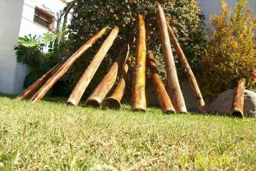 didjeridoo, didgeridoo de pita auténtica para música , yoga.