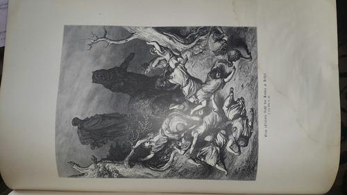 die heilige schirft der israeliten. ilustraciones. g. doré