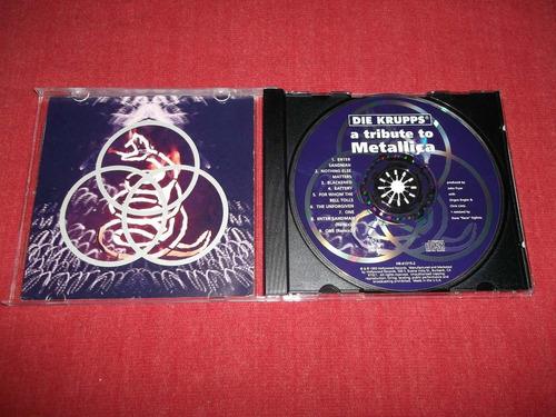 die krupps - tribute to metallica cd imp ed 1993 mdisk
