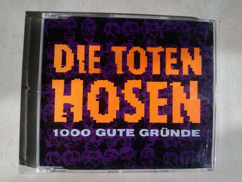 die toten hosen - 1000 gute grunde cd single 1989
