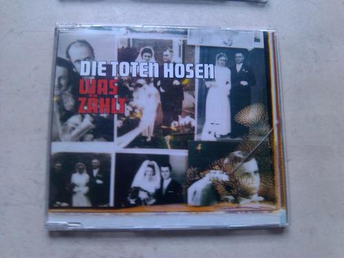 die toten hosen - was zahlt - cd simple alemania 2002