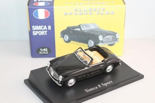 diecast simca 8 sport atlas 1:43 1/43 auto escala colección