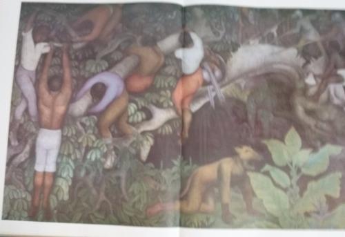 diego rivera pintura mural 37x45cm  f. tzedaká