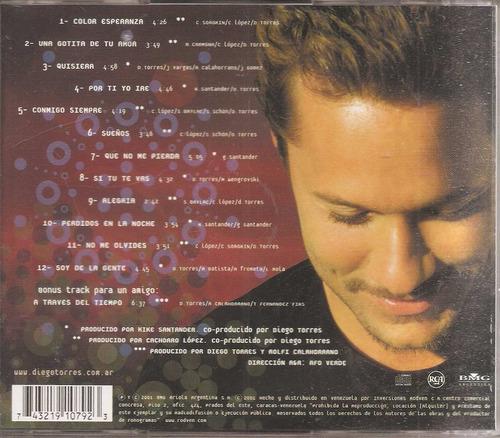 diego torres  - cd  original - un tesoro musical