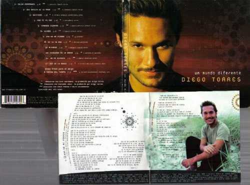 diego torres un mundo diferente dicgipack cd original