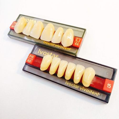 dientes anteriores ivostar ivolcar color 6 d 44 novacekdenta