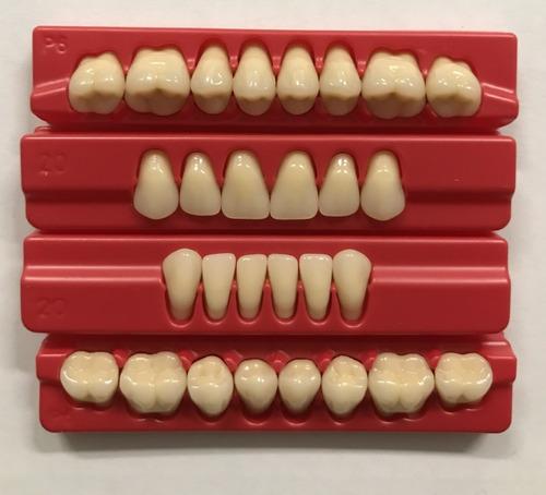 dientes de acrilico 4 taquillas tableta con envio acritone