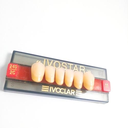 dientes de acrilico  ivostar  ivoclar vivadent color 2 c