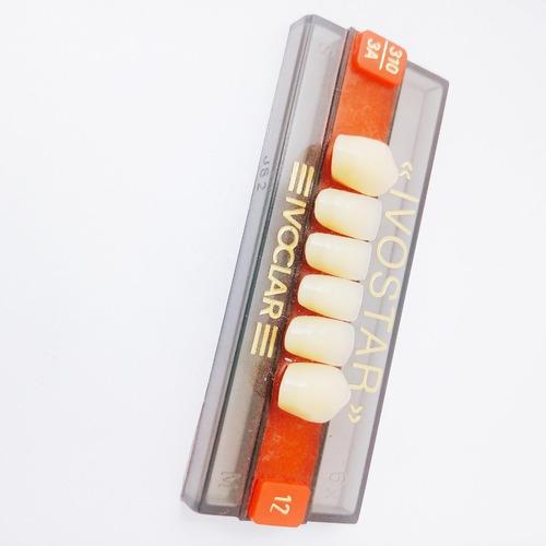 dientes de acrilico  ivostar  ivoclar vivadent color 3 a