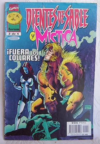dientes de sable y mistica n° 3 marvel comics forum