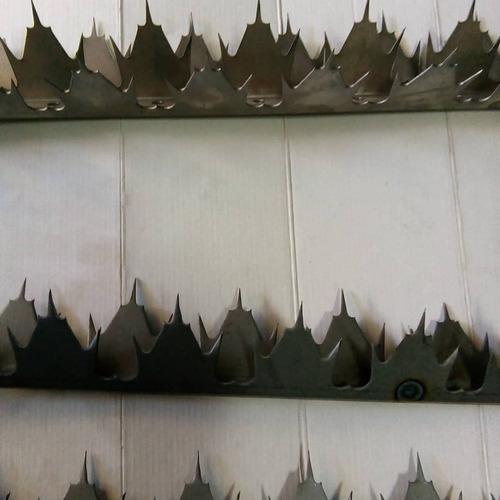 dientes de tiburón puntas de seguridad puntas para rejas