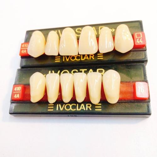 dientes protesis ivostar 44-16 sup-inf novacekdent