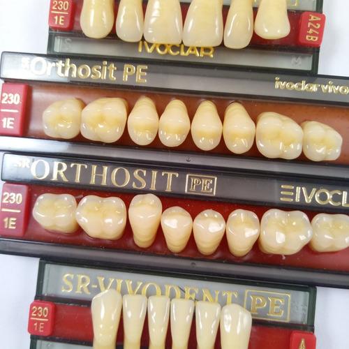 dientes vivodent ivoclar color 1 e novacekdental