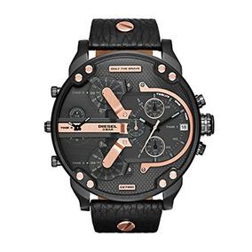 0b132c5afddf Reloj Diesel Dz1273 Para Hombre Pulso De Cuero Cafe - Relojes en ...