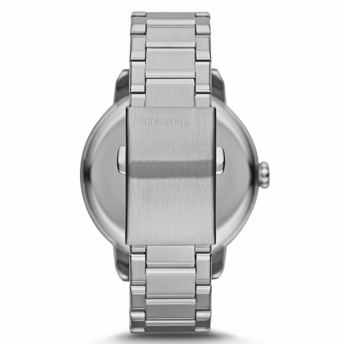 9db9beaa569 Carregando zoom... relógio diesel feminino prata c  detalhes dourado ...